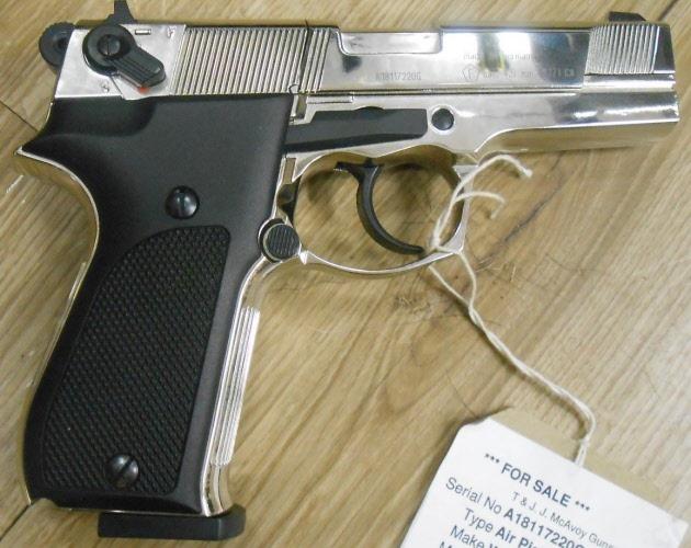180831/050  177 Umarex Walther CP88 Chrome