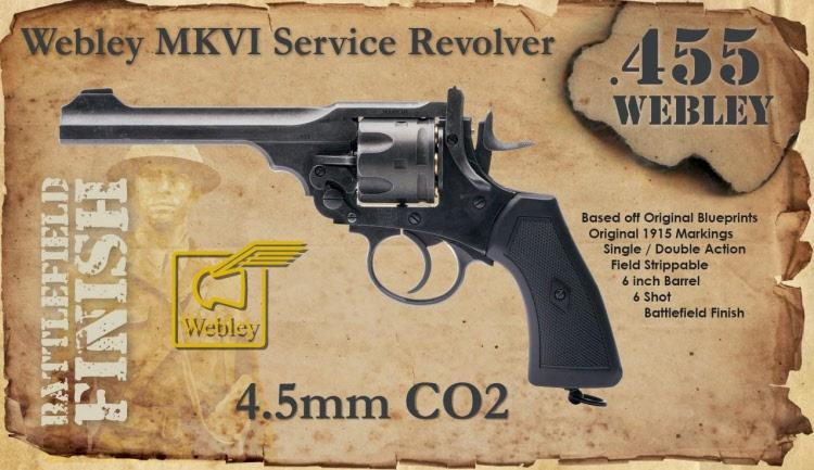 ASG Webley CO2 guns