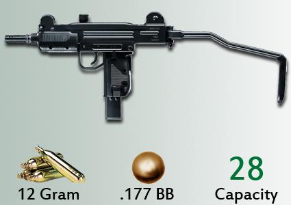 Umarex IWI UZI CO2 gun